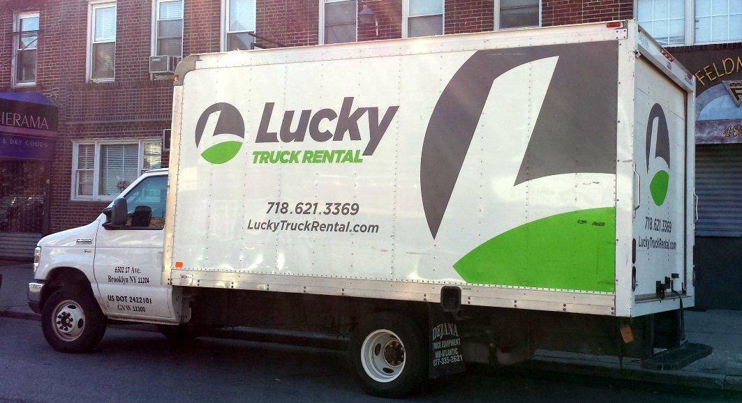 Lucky truck rental
